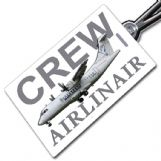 AIRLINAIR ATR42 Crew Tag